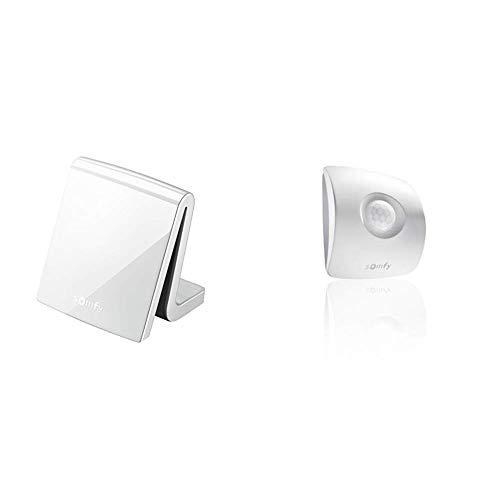 Somfy 2401354 - TaHoma Premium Smart Home Steuerung für vernetztes Haus, inkl. Funk-Handsender, weiß + 2401361 - TaHoma Bewegungsmelder io, Winkel 104°, Reichweite 8m, weiß
