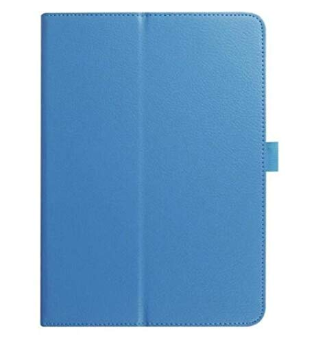 Litchi skin Leather smart cases for Samsung Galaxy Tab S3 9.7 stand cover For Samsung Galaxy Tab S3 T820 T825 9.7 Tablets cover-Sky Blue