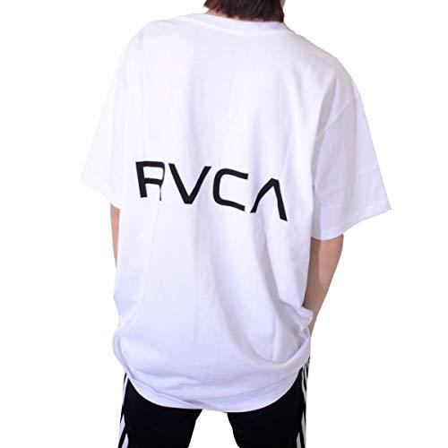 RVCA ルーカ Tシャツ 半袖 ビッグシルエット TAIL RVCA SS ロゴプリント カットソー トップス 白 黒 BA041-221
