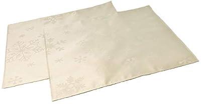 Christmas Snowflake Blizzard Tablecloth Range