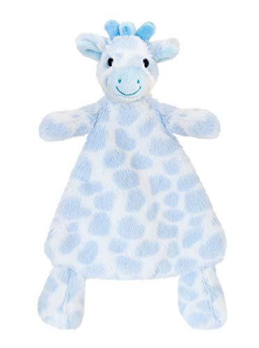 tachi Plüschtier Giraffe 25 cm, Baby Kuscheltier Schmusedecke Blau, Stofftier aus weichem Plüsch