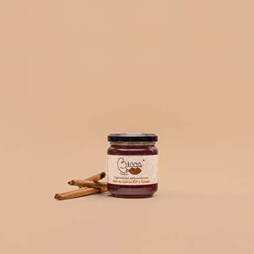 Miel con Canela 250g Bicos de Mel