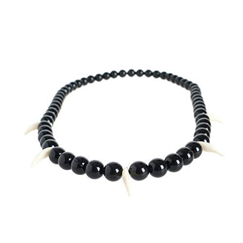 CoolChange Inuyasha magische Halskette für Inu Yasha Cosplay Kostüm, Schwarz