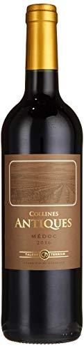 Collines Antiques Rotwein, Bordeaux Médoc, 2016, 0,75 l Flasche