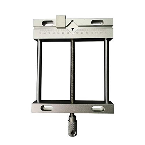 NXYJD Pinzas Planas Parallel Jaw Plain Vise con Ancho De Sujeción Máximo 144mm para CNC 3020 3040 6040 Fresadora De Grabado
