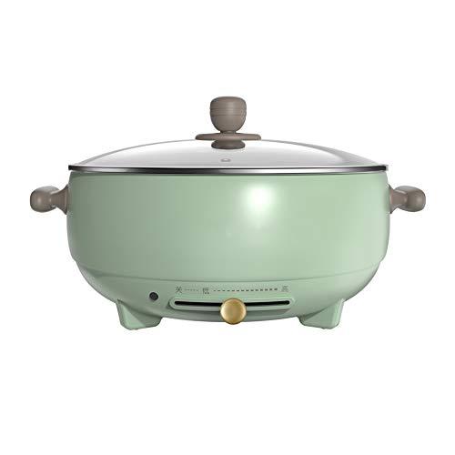 DYXYH Hot Pot Électrique Des Ménages Multi-fonction Marmite Pot Dortoir Électrique Pot Petit Cuisinière Électrique Poêle À Grande Capacité