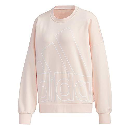 adidas Damen Fav Bl Sweatshirt, Pnktin/White, XS