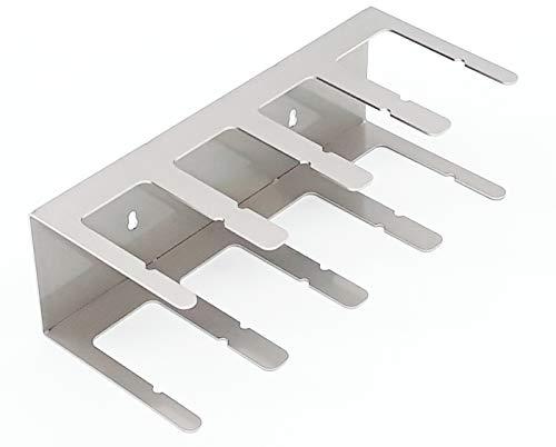 Gewürzregal Gewürzboard für Gewürzriesen u. Gewürzzwerge T08 aus Edelstahl