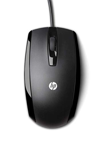 HP KY619AA 3BTN WIRED BLACK OPTICAL MOUSE