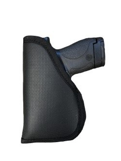 Sticky Grip Gun Holster for Kahr K9, K40 with Laser