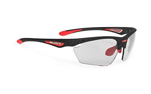 ルディプロジェクト(RUDYPROJECT) スポーツ サングラス ロード バイク 自転車 マラソン ジョギング 運動 トライアスロン テニス 野球 STRATOFLY ストラトフライ カーボニウム フレーム/インパクトX 2 調光ブラック レンズ SP2