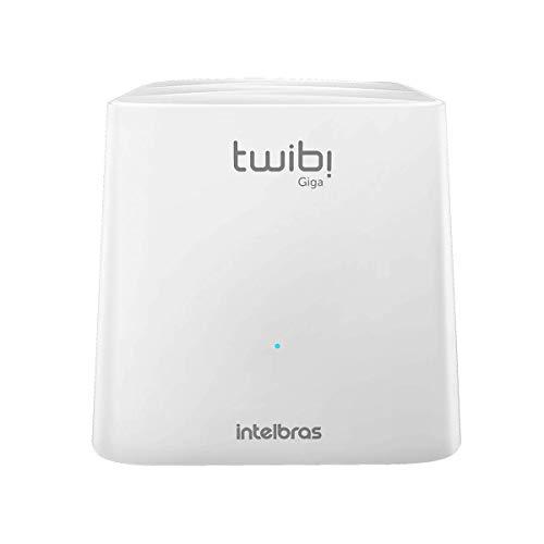 Roteador Wi-fi Mesh Intelbras Twibi Giga Branco