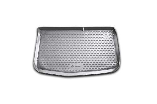 Element EXP.NLC.20.32.B11 Passgenaue Premium Antirutsch Gummi Kofferraumwanne - Hyundai i20, Schrägheck - Jahr: 08-20, schwarz, Passform