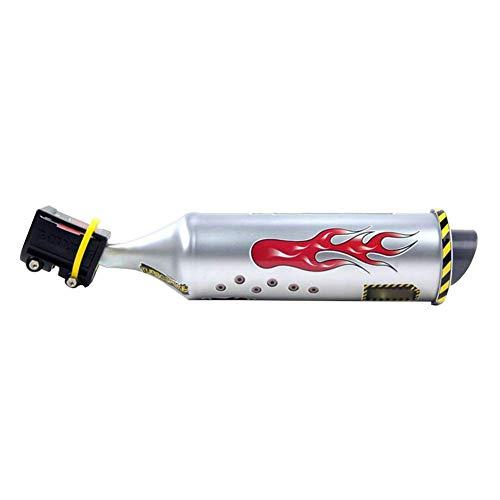 Fahrrad Exhaust Sound System Motor Cycling Bike Auspuff 6 Soundeffekt Motorrad-geräusch-Hersteller (1pc)