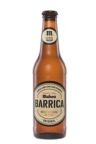 Mahou Barrica Cerveza Envejecida Edición Original 6.1% Volumen de Alcohol - Pack de 12 x 33 cl