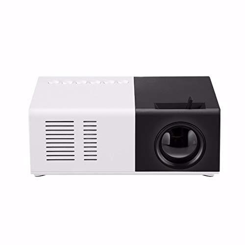 Beamer Projektor Elektrisch 1080P HD-Projektor 1080P Heimkino USB HDMI AV SD Mini Tragbarer HD LED-Projektor