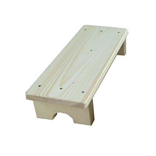 Feng Xu Keuken Utility Houten Ladder Kleine voet Krukken Houten Stap Kruk Voor volwassenen & Peuter Indoor Bloemenrek Balkon Opslag Plank Stap kruk