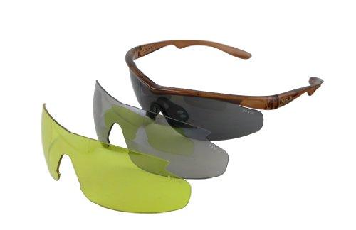NYX Carbon 3-Lens Sunglasses