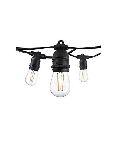 Guirnalda fija IP65 14,4 m para 15 bombillas E27