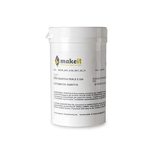 Natronlauge in Perlen (pH-Regler) zur Herstellung von Seifen - Make it (100 g)