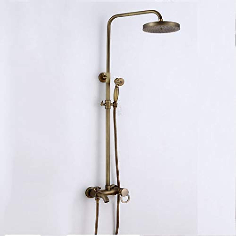 LHW Shower Set chset, europisches Retro, Wandbehang, Multi-Funktions-Handbrause, Sanitrkeramik
