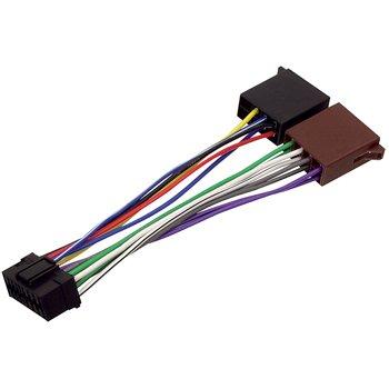 HQ - Cable conector adaptador ISO para radio de coche Sony (16 pines)