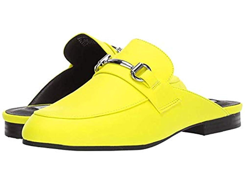尋ねる記憶節約レディースローファー?靴 Kandi Slip-On Mule Yellow Neon (27cm) M [並行輸入品]
