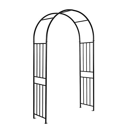Arco de jardín de Metal para Boda, pérgola de Escalada de Plantas, cenador de decoración para jardín de Fiesta, Marco de Escalada de Rosas al Aire Libre