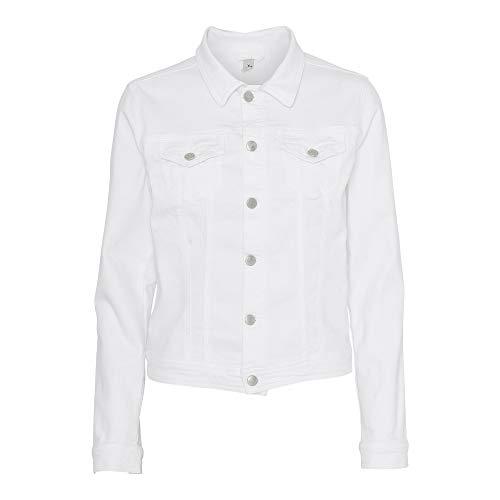 SOYACONCEPT Damen Jeansjacke SC-Jinx 8 White, Größe:XS, Farbe:1500 1500 Sand