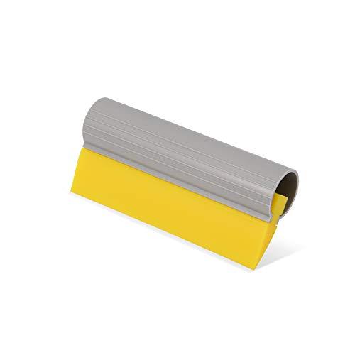 Ehdis® 5,5inch (14cm) turbo aandrukkrakel window film gereedschap buis rubberen krabber siliconen-water-blad-sticker wrap-applicator van de auto tint flexibel