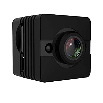 YiShi-US Other Camera SQ12 Full HD 1080P Mini Camcorder Action Camera with Waterproof Housing Case, 155 Degrees Wide Angle, Support Night Vision/Motion Detection(Black) (Color : Black) by YiShi-US