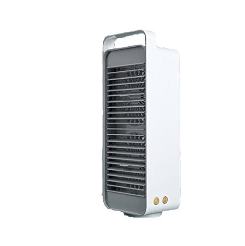 WYYY Ventilador De Escritorio, Ventilador De Mesa De 5000mah, Ventilador Portátil Ajustable De 3 Velocidades, Ventilador Silencioso para Mesa, Hogar Y Oficina USB Alimentado(Color:Blanco)