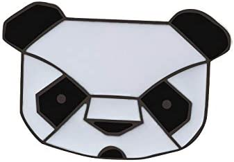 Cartoon Animal Brooches I Love Cats Awesome Cool Smile Cat Panda Enamel Pin Bagdes Bag Clothes Lapel Pins Jewelry Gifts for Kids - Panda Head