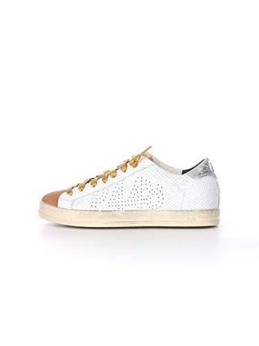 P448 DS21JHONW Damen-Sneakers, Weiß - Weiß - Größe: 37 EU