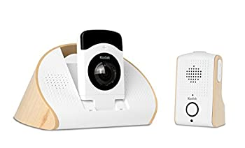kodak CFH-BVA10 180-Degree HD Wi-Fi Video Baby Monitor Night Vision  White