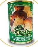 Aceite de oliva con aroma de boletus edulis. Lata de aceite de hongos de 200ml. Acompaña cualquier plato y consigue ese toque gourmet. Aceite aromatizado con boletus, de primera calidad, de pinares.