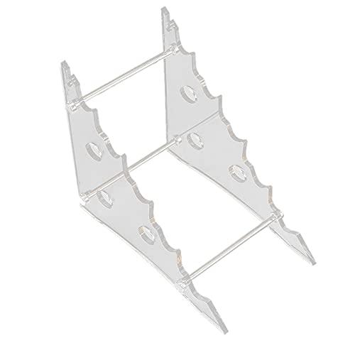Fransande - Expositor de cuchillos de acrílico portacuchillos de cristal orgánico EDC...