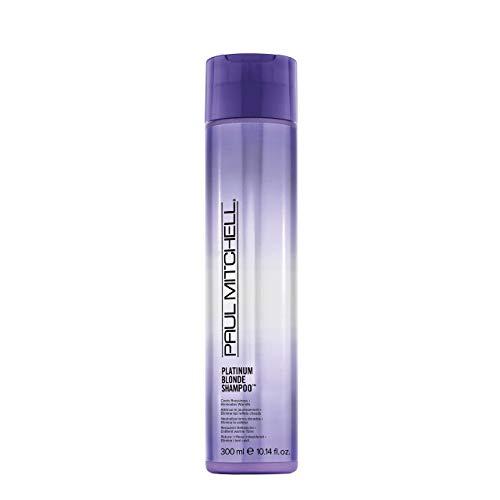 Paul Mitchell Platinum Blonde Shampoo - Violett Shampoo für strahlend blondes, graues oder weißes Haar, Pflegeshampoo gegen Gelbstich, 300 ml