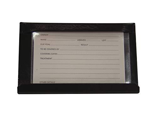 Stubbs - Porta carte di credito unisex, colore: Nero