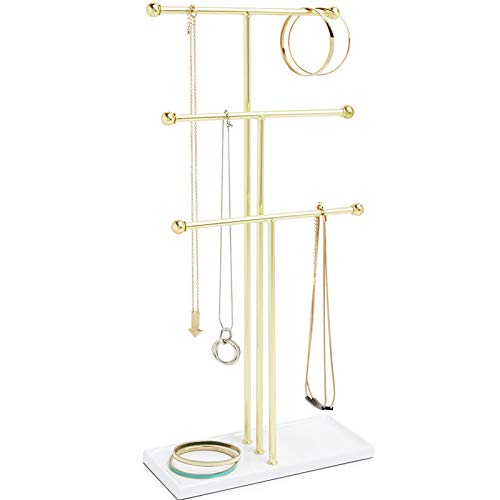 Colgando Organizador, 3 Tier, Brass
