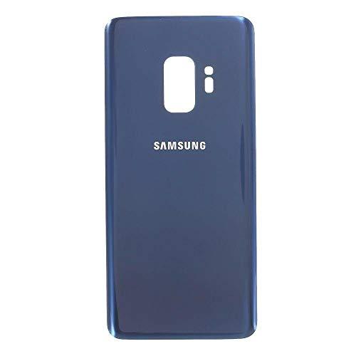 Todotumovil Tapa Trasera de bateria Cristal Trasero para Samsung Galaxy S9 Plus G965F Azul