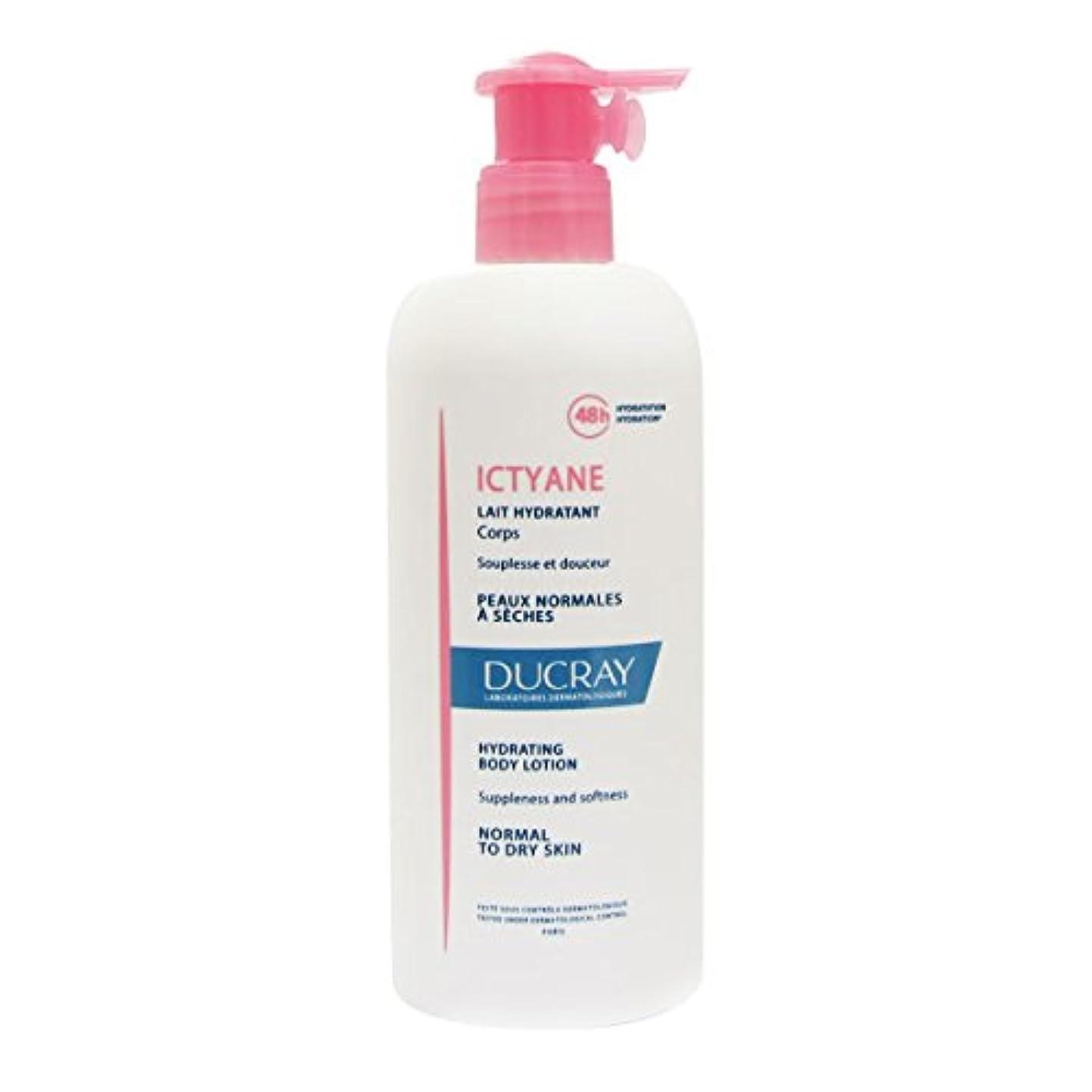 潜む連結する情熱的Ducray Ictyane Hydrating Protective Lotion 400ml [並行輸入品]