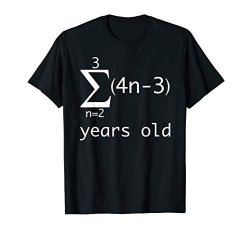 Funny Math Pun Shirt-14th Birthday 14 Years Old Boys, Girls
