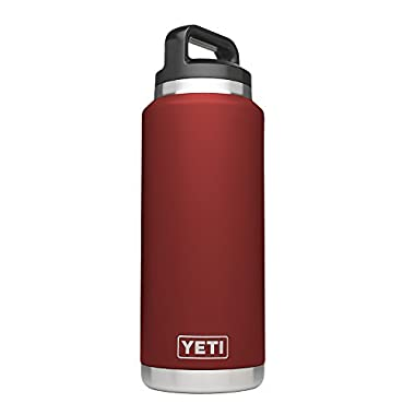 YETI Rambler 36oz Vacuum Insulated Stainless Steel Bottle with Cap (Stainless Steel) (Brick Red)