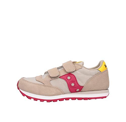Saucony Jazz Double HL Sneaker Beige-Bordeaux Da Bambino SK164797