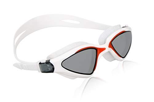 Nivia 4087WP Unicore Swimming Goggles (White)