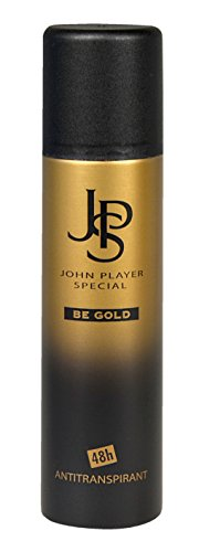 John Player Special JPS John Player Special BE GOLD 48h Antitranspirant Deospray, 1 Stück