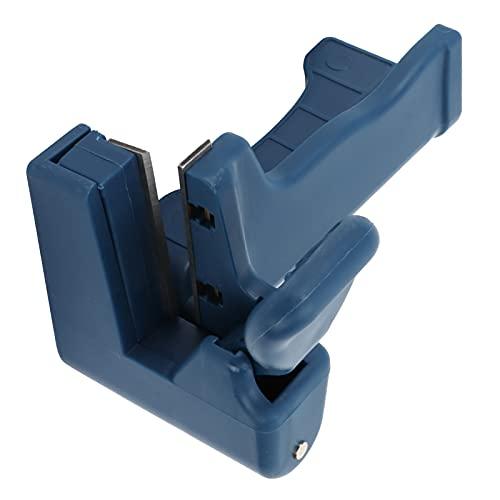 Cikonielf Máquina de Bandas de Borde, Material de PVC, Bandas de Corte de Bordes, adecuadas para Chapa de Papel de melamina Flexible, Herramienta de carpintería de plástico de PVC
