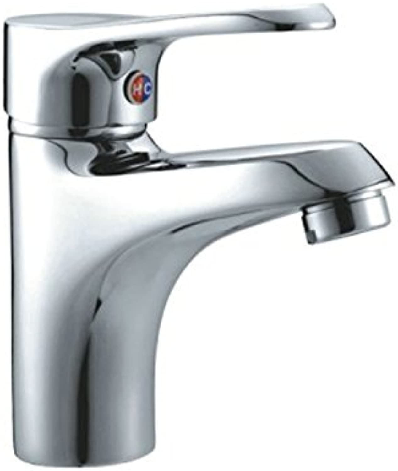 Fbict Basin Faucet Hardware Faucet hot and Cold Water Single Hole Faucet Hotel Household Faucet for Kitchen Bathroom Faucet Bid Tap