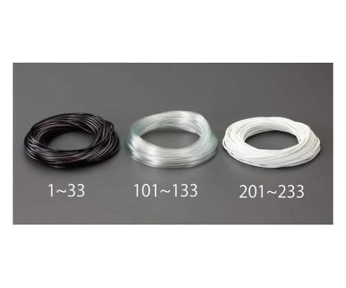 エスコ(ESCO) ビニール絶縁チューブ(透明 3.0x0.4mmx100m EA944AE-103